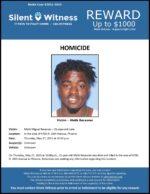 Homicide / Malik Recasner / Area of 4700 N. 19th Ave., Phoenix