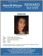 Homicide / Dannielle Coscino / In the area of 900 West Hadley Street, Phoenix