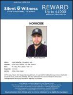 Homicide / Mario Bodadilla / In the area of 4500 N. 87th Ave., Phoenix