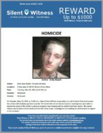 Homicide / Kelly Roach / In the area of 400 W. Brown Drive, Mesa
