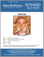Homicide / Jesse Wilbanks / In the area of 3200 W. Van Buren Street, Phoenix