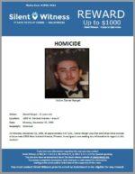 Homicide / Daniel Rangel / In the area of 1800 W. Sunland Avenue, Phoenix