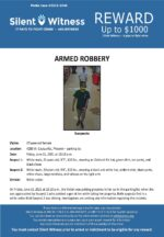 Armed Robbery / 47-year-old female / 4200 W. Cactus Rd., Phoenix