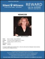 Homicide / Nancy Jo Justice / Area of 200 W. Marguerite Ave., Phoenix