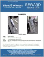 Robbery / 66 year old male / 3501 W. Dunlap Avenue (Parking Lot)