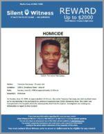 Homicide / Terrance Harraway / In the area of 2300 East Broadway Road